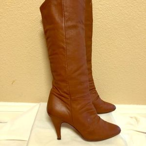 Vintage Chinese laundry boots brown Sz 6.5